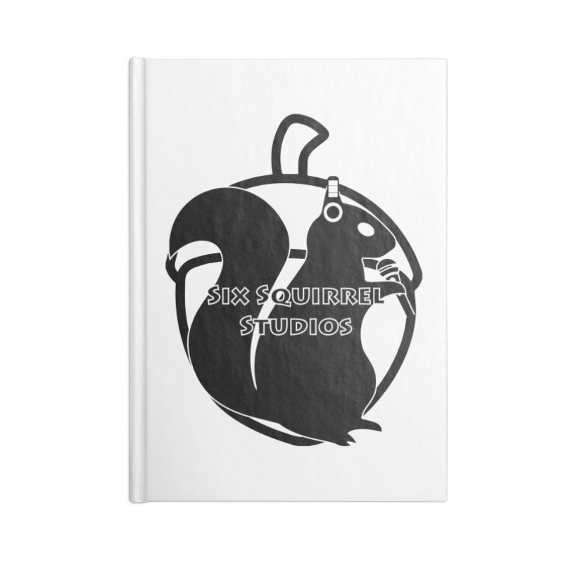 Classic Six Squirrel Studios Accessories Blank Journal Notebook by SixSqrlStore