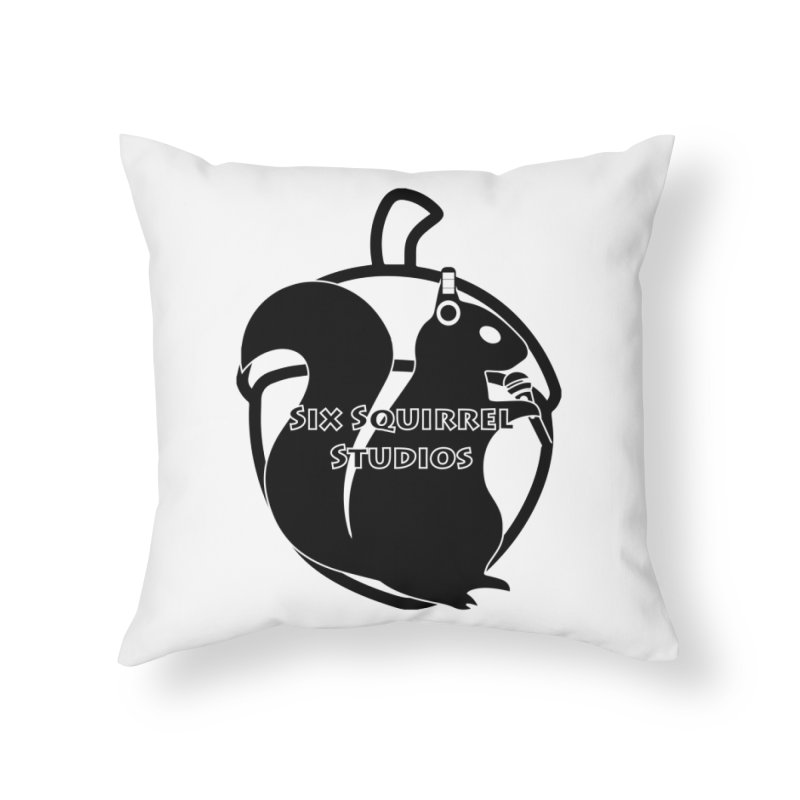Classic Six Squirrel Studios Home Throw Pillow by SixSqrlStore