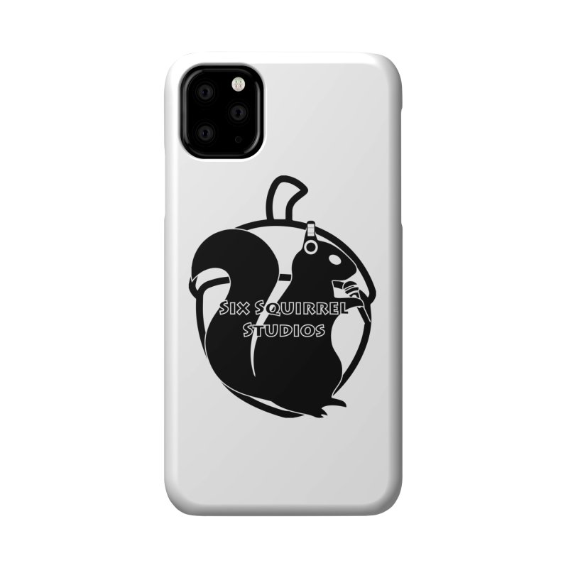 Classic Six Squirrel Studios Accessories Phone Case by SixSqrlStore