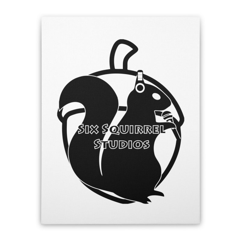 Classic Six Squirrel Studios Home Stretched Canvas by SixSqrlStore