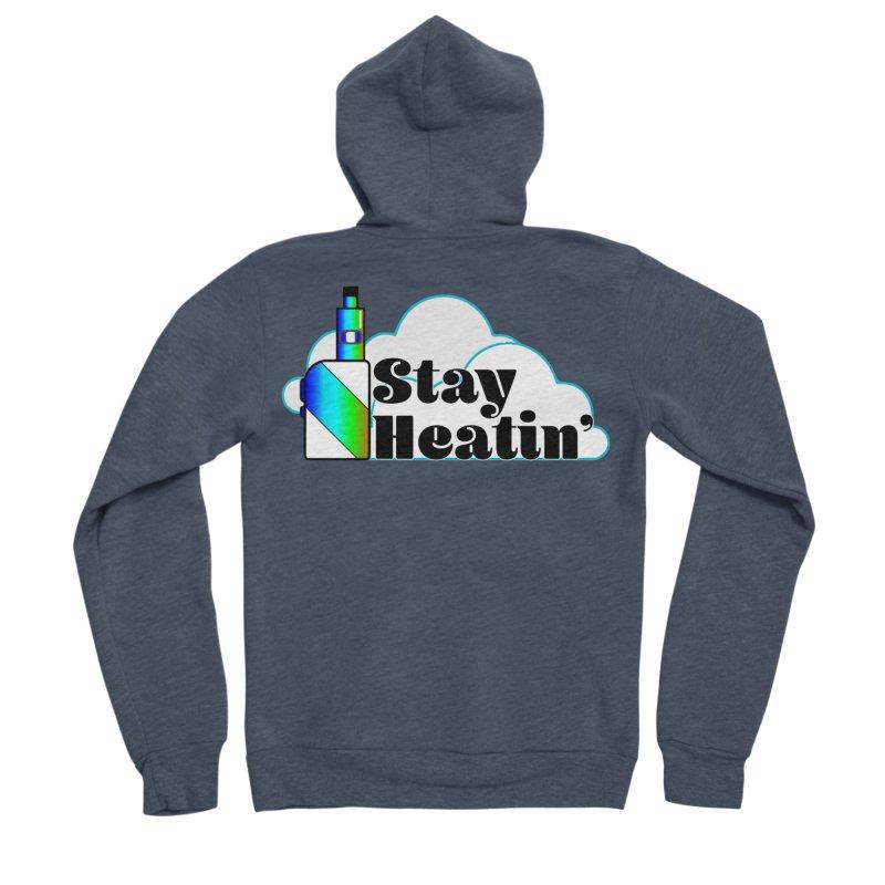 Stay Heatin' Men's Sponge Fleece Zip-Up Hoody by SixSqrlStore