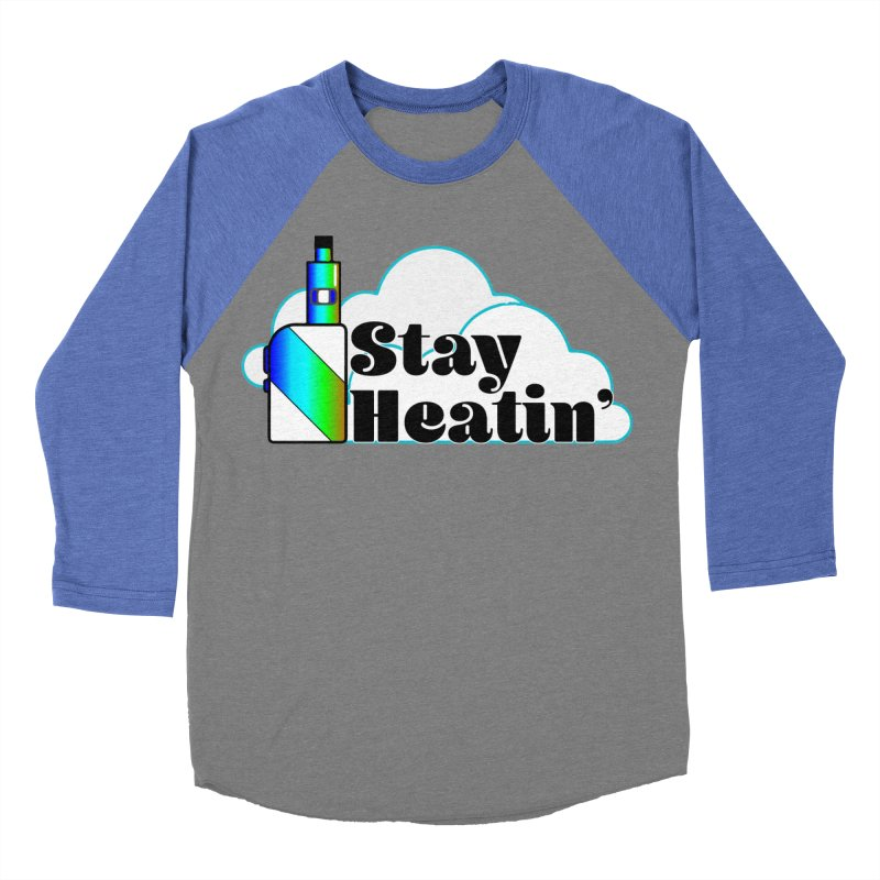 Stay Heatin' Men's Baseball Triblend Longsleeve T-Shirt by SixSqrlStore