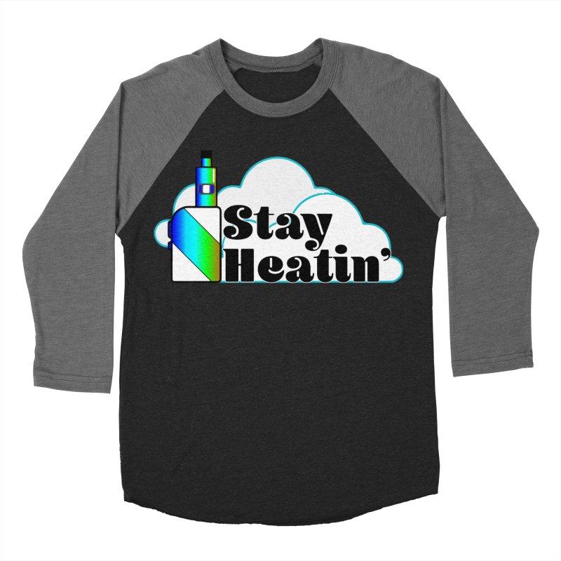 Stay Heatin' Men's Baseball Triblend Longsleeve T-Shirt by SixSqrlStore