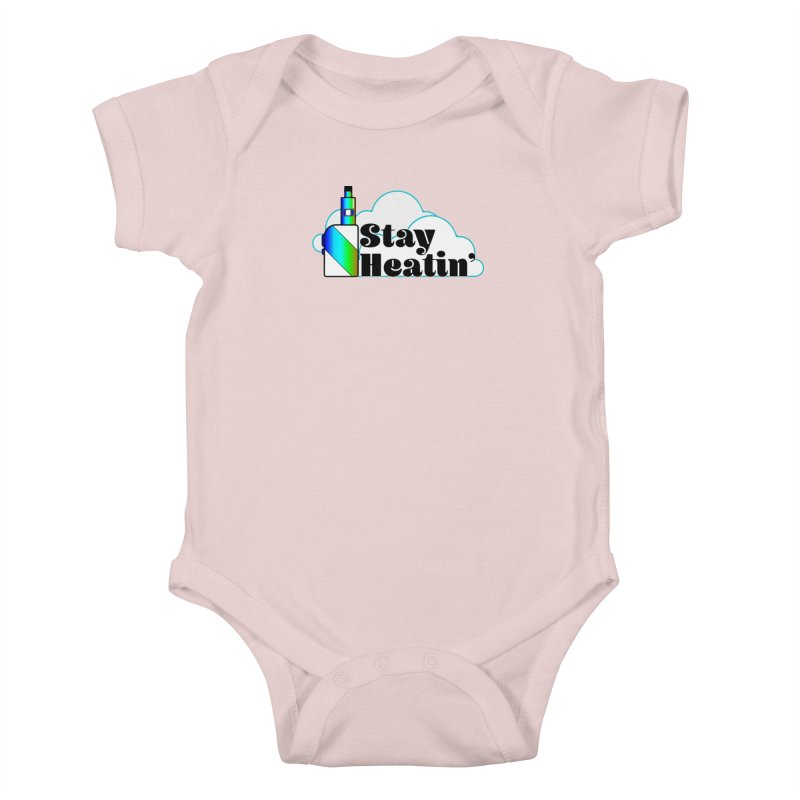Stay Heatin' Kids Baby Bodysuit by SixSqrlStore