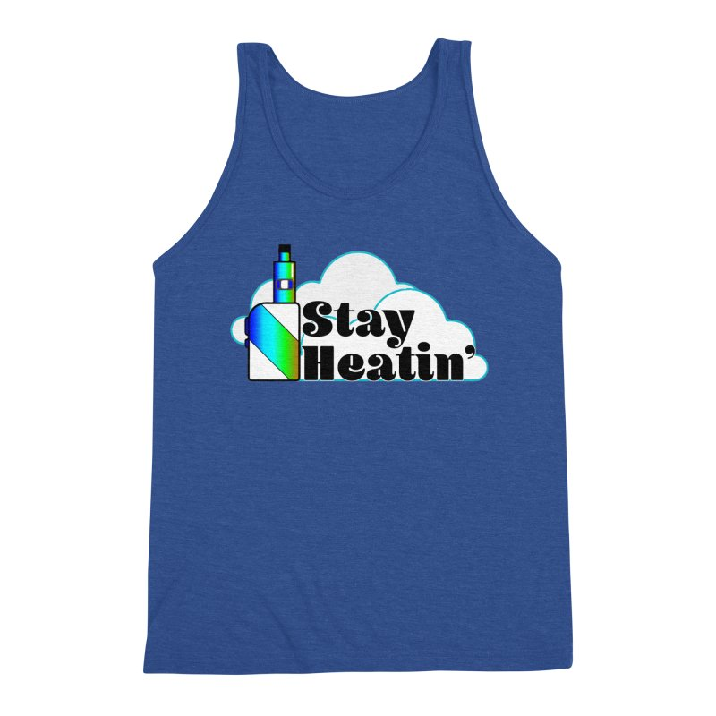 Stay Heatin' Men's Triblend Tank by SixSqrlStore