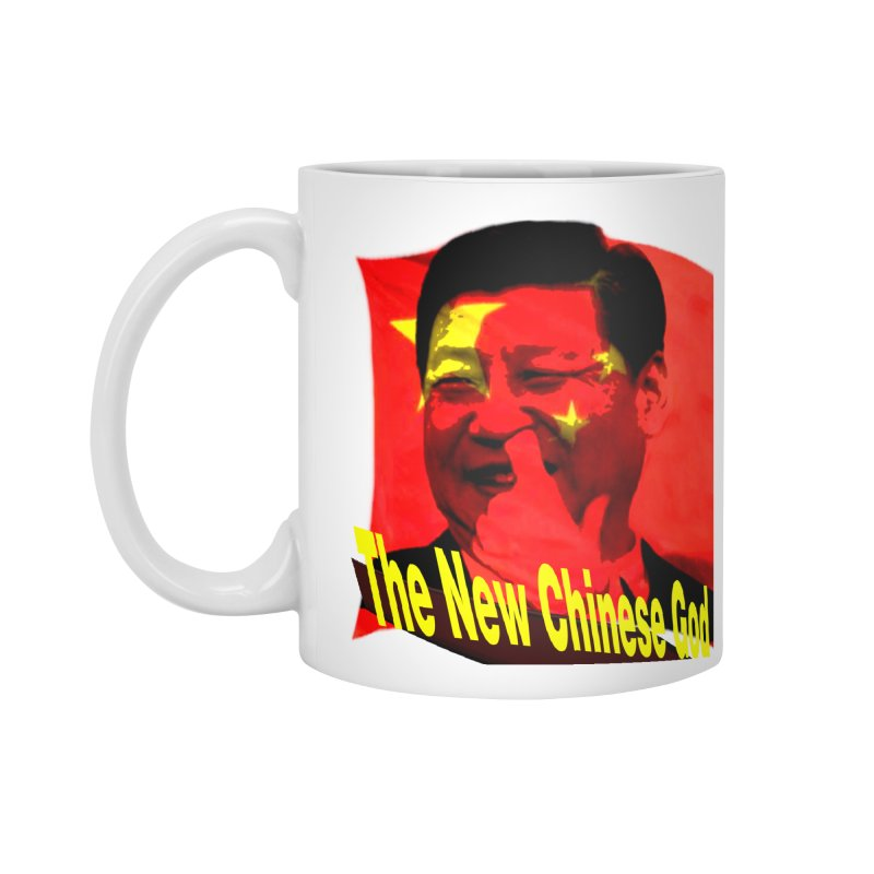 The New Chinese God Accessories Standard Mug by Sixth Seal News Talk's Products & Items