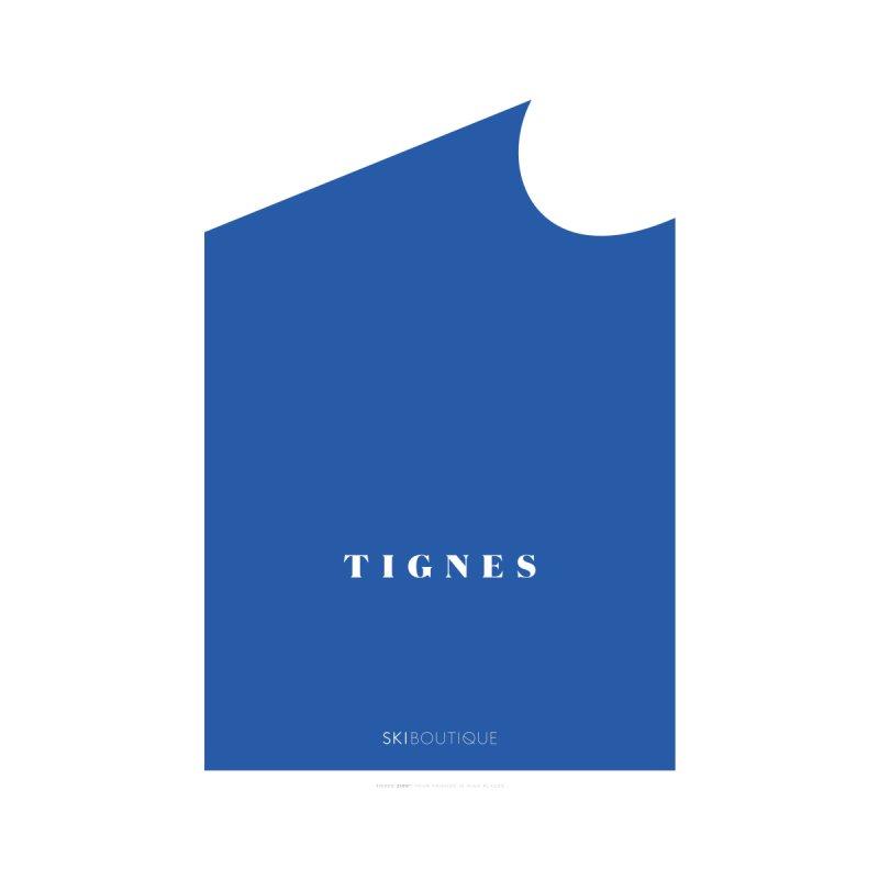 Tignes Ski Poster Home Framed Fine Art Print by SkiBoutique's Luxury Poster Shop