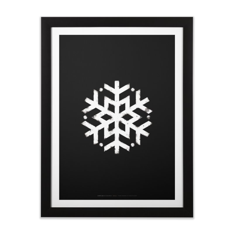 Snowflake Ski Boutique Poster  Home Framed Fine Art Print by SkiBoutique's Luxury Poster Shop