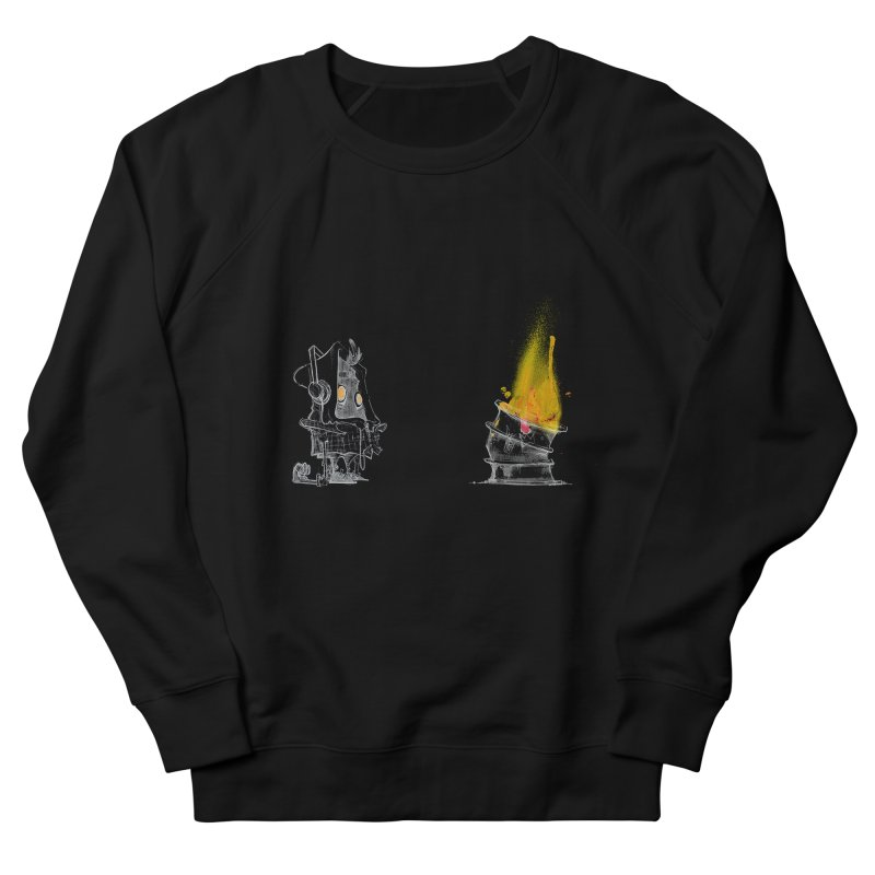 Fire Now Men's Sweatshirt by Skrowl's Artist Shop