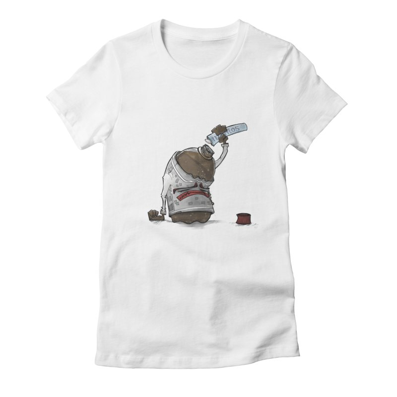 The Freshmaker Women's Fitted T-Shirt by Skrowl's Artist Shop
