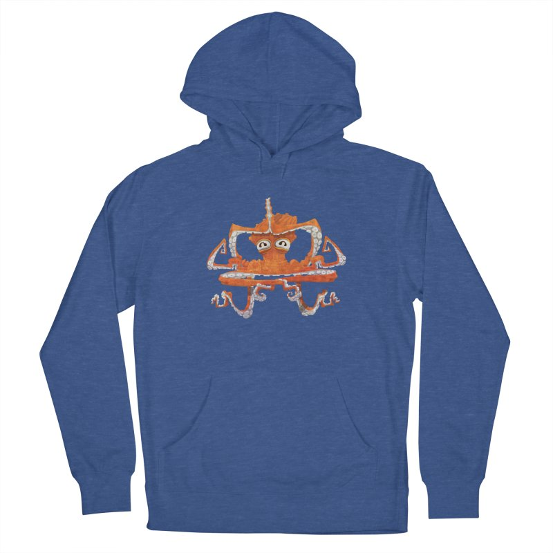 Octovasana Men's French Terry Pullover Hoody by Skrowl's Artist Shop