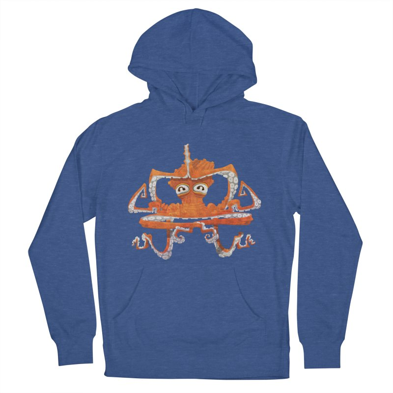 Octovasana Women's French Terry Pullover Hoody by Skrowl's Artist Shop