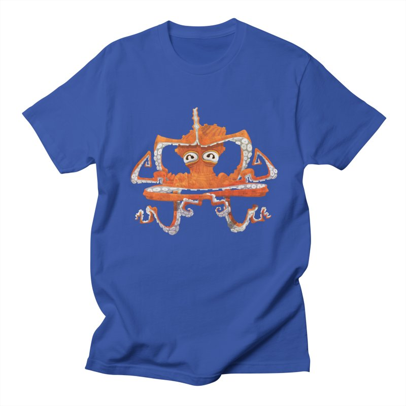 Octovasana Men's Regular T-Shirt by Skrowl's Artist Shop