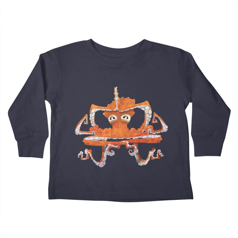 Octovasana Kids Toddler Longsleeve T-Shirt by Skrowl's Artist Shop
