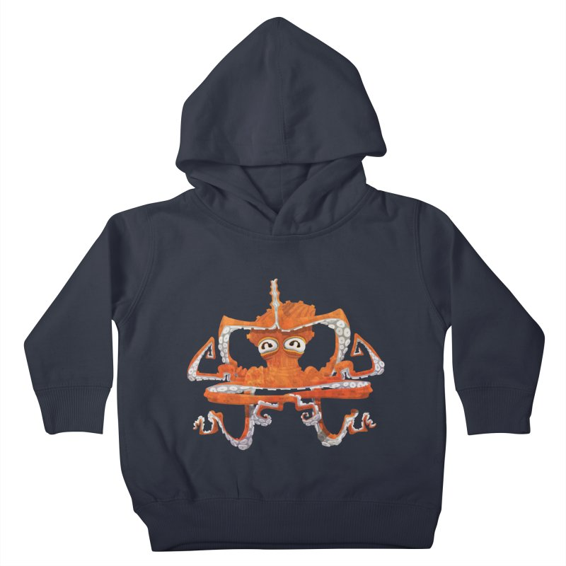 Octovasana Kids Toddler Pullover Hoody by Skrowl's Artist Shop