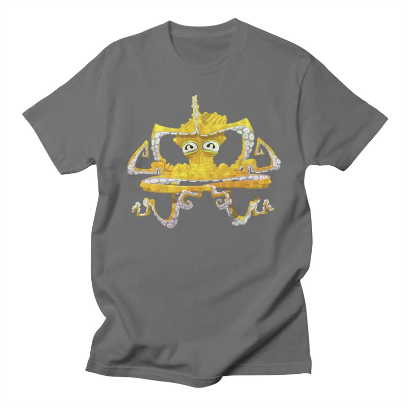 octovasana. yellow on black Women's T-Shirt by Skrowl's Artist Shop