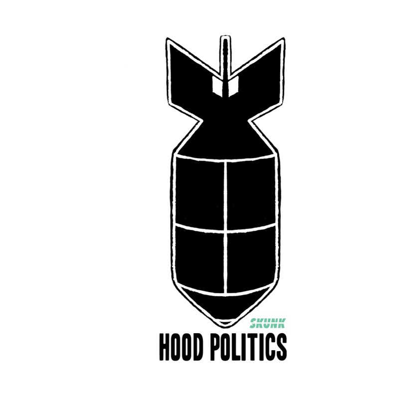 Hood Politics - Skunk Men's T-Shirt by Skunk's Shop