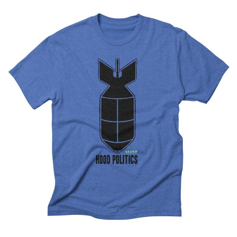 Hood Politics - Skunk Men's T-Shirt by Skunk's Shop