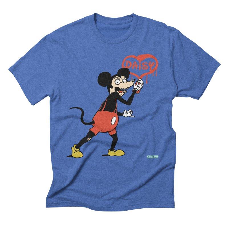 Tender Mouse - Skunk Men's Triblend T-Shirt by Skunk's Shop