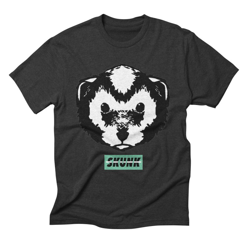 Skunk Theme Men's Triblend T-Shirt by Skunk's Shop