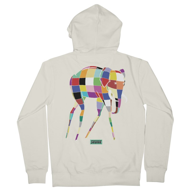Elmer - Dali Theme - Skunk Men's French Terry Zip-Up Hoody by Skunk's Shop