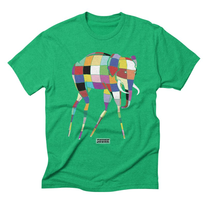 Elmer - Dali Theme - Skunk Men's Triblend T-Shirt by Skunk's Shop