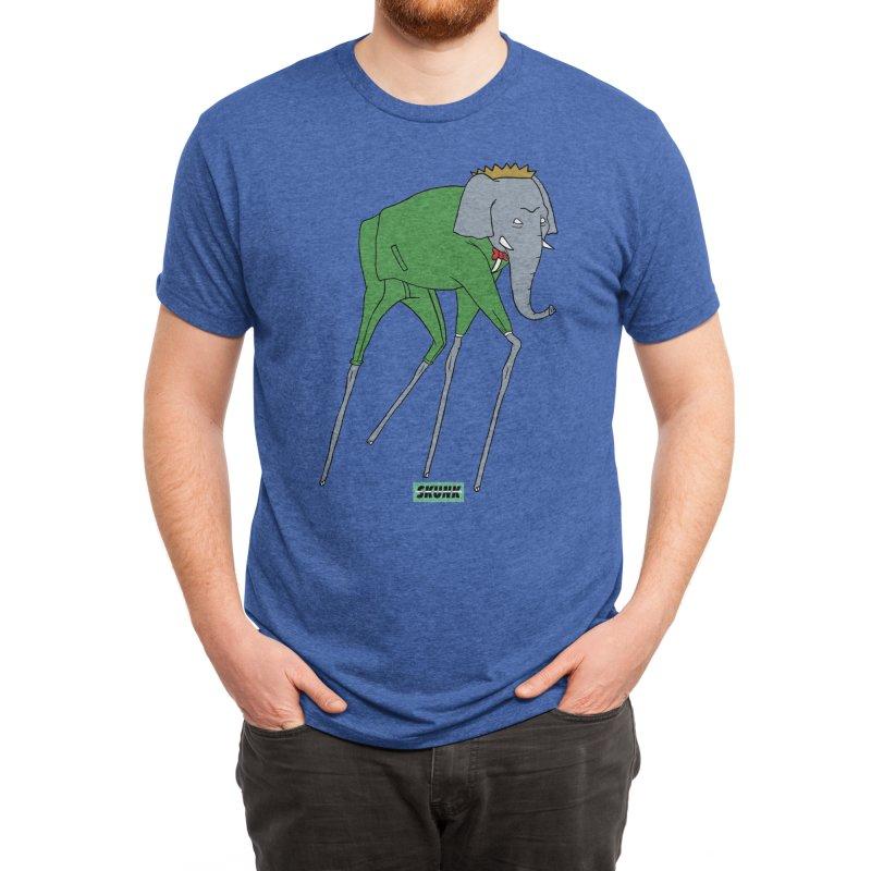 Babar - Dali Theme - Skunk Men's T-Shirt by Skunk's Shop