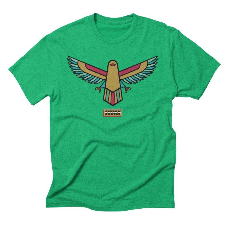 Bird - Egyptian Theme - Skunk Men's Triblend T-Shirt by Skunk's Shop