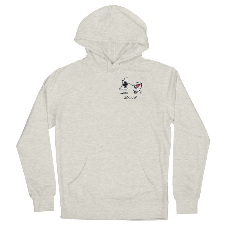 Rapology - Solaar - Skunk Women's French Terry Pullover Hoody by Skunk's Shop