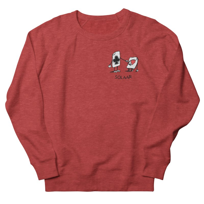 Rapology - Solaar - Skunk Men's French Terry Sweatshirt by Skunk's Shop