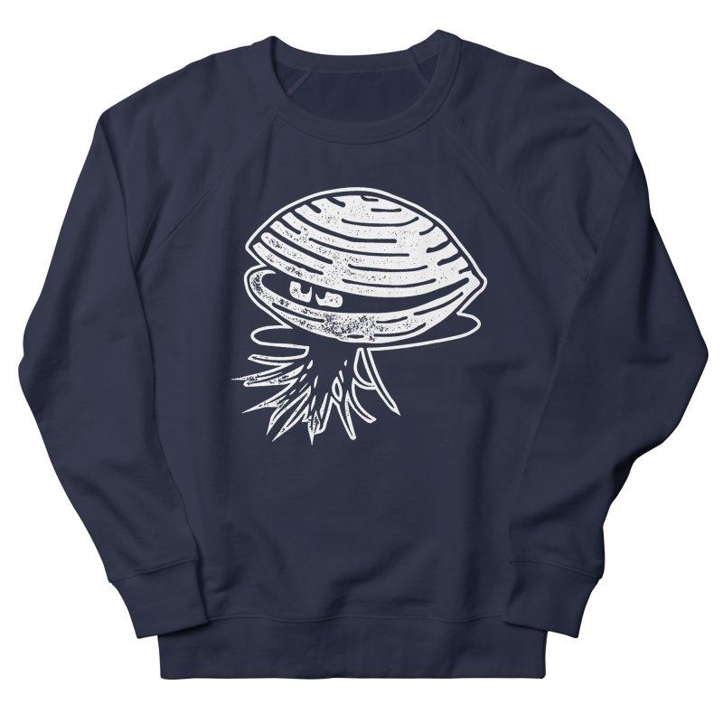 Bearded  Hipster Clams Women's French Terry Sweatshirt by Slap Happy Ultd Emporium