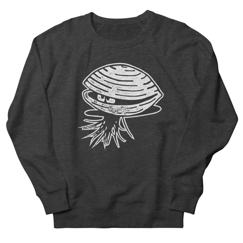 Bearded  Hipster Clams Men's French Terry Sweatshirt by Slap Happy Ultd Emporium