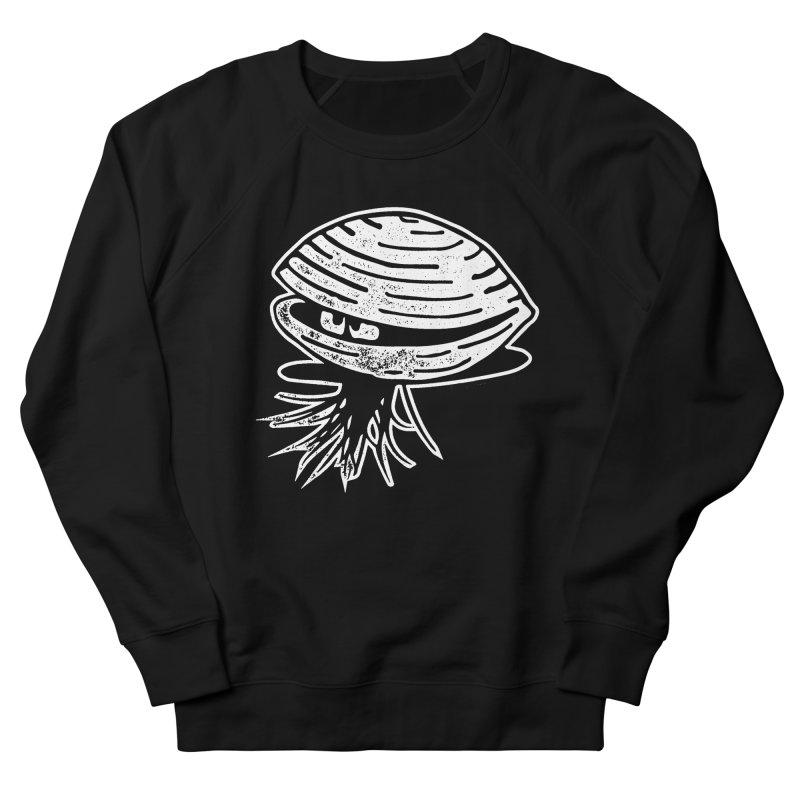 Bearded  Hipster Clams Men's French Terry Sweatshirt by Slap Happy Ultd Emporium