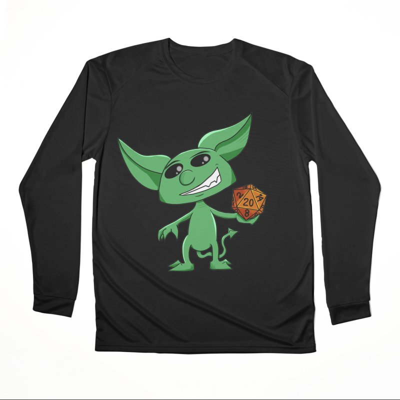 Gaming Imp Men's Longsleeve T-Shirt by Slightly Animated Merch