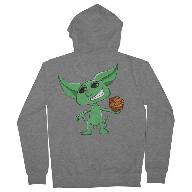 Gaming Imp Women's French Terry Zip-Up Hoody by Slightly Animated Merch