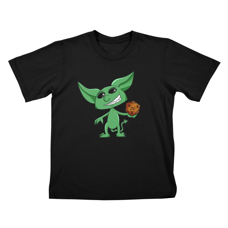 Gaming Imp Kids T-Shirt by Slightly Animated Merch