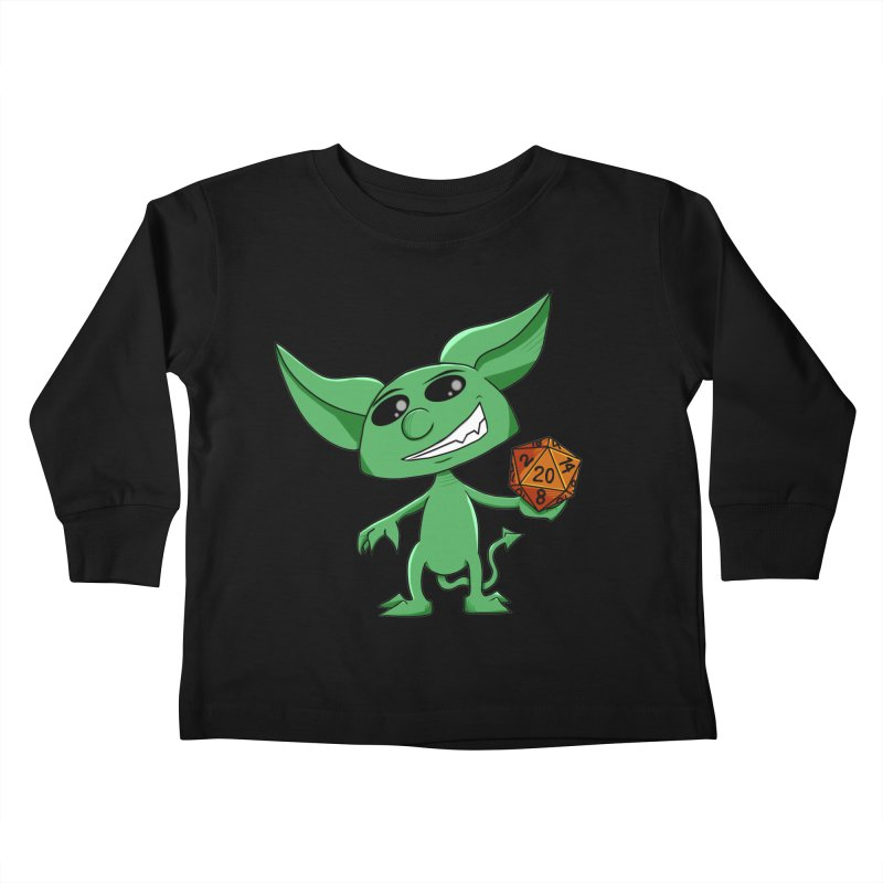 Gaming Imp Kids Toddler Longsleeve T-Shirt by Slightly Animated Merch