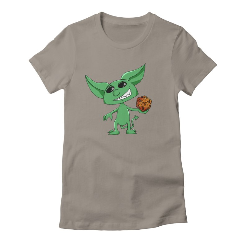 Gaming Imp Women's Fitted T-Shirt by Slightly Animated Merch