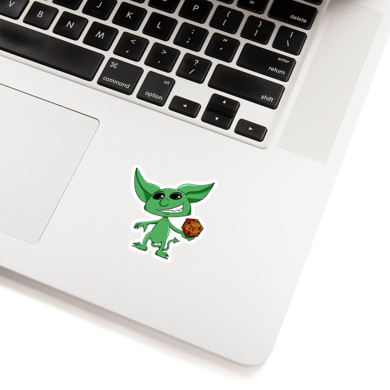 Gaming Imp Accessories Sticker by Slightly Animated