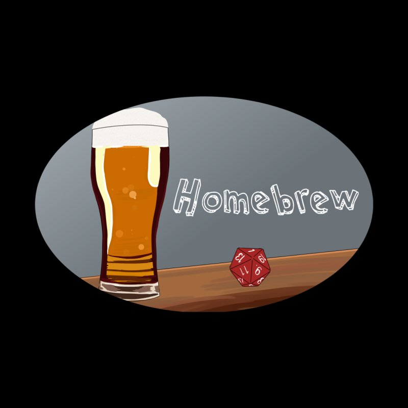 Homebrew Logo Men's V-Neck by Slightly Animated Merch