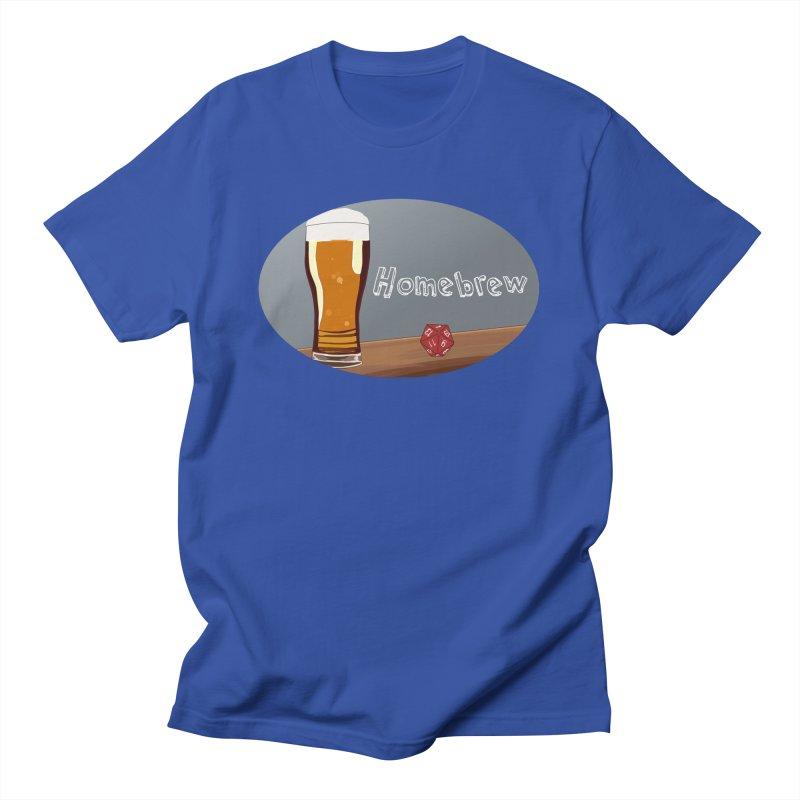 Homebrew Logo Men's T-Shirt by Slightly Animated