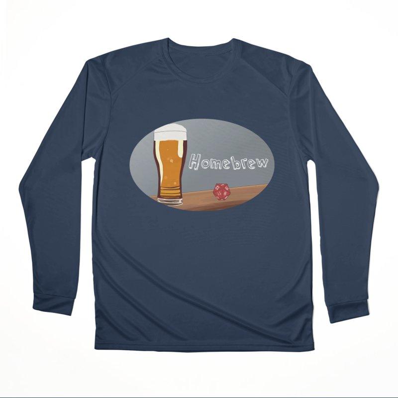 Homebrew Logo Women's Performance Unisex Longsleeve T-Shirt by Slightly Animated Merch