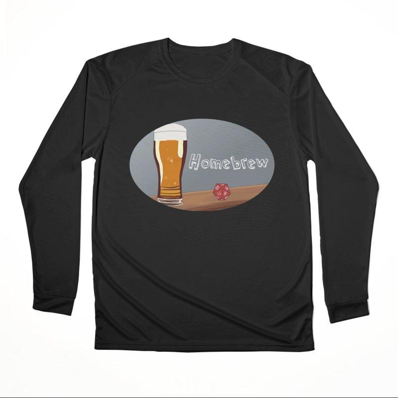Homebrew Logo Men's Longsleeve T-Shirt by Slightly Animated Merch