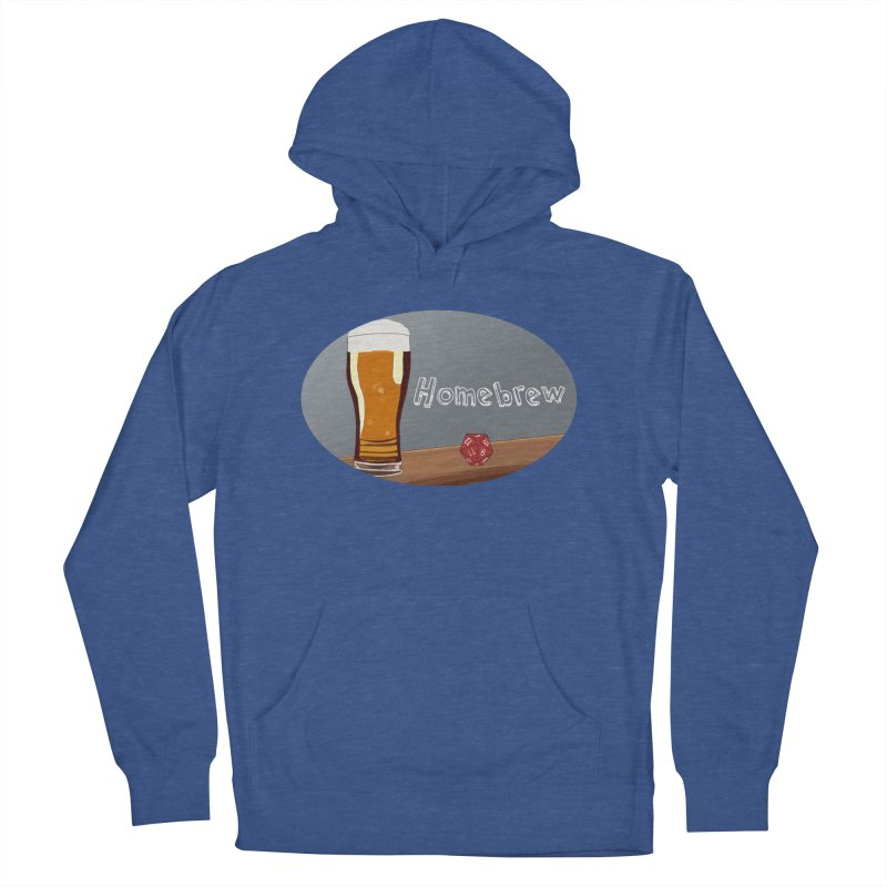 Homebrew Logo Men's French Terry Pullover Hoody by Slightly Animated Merch