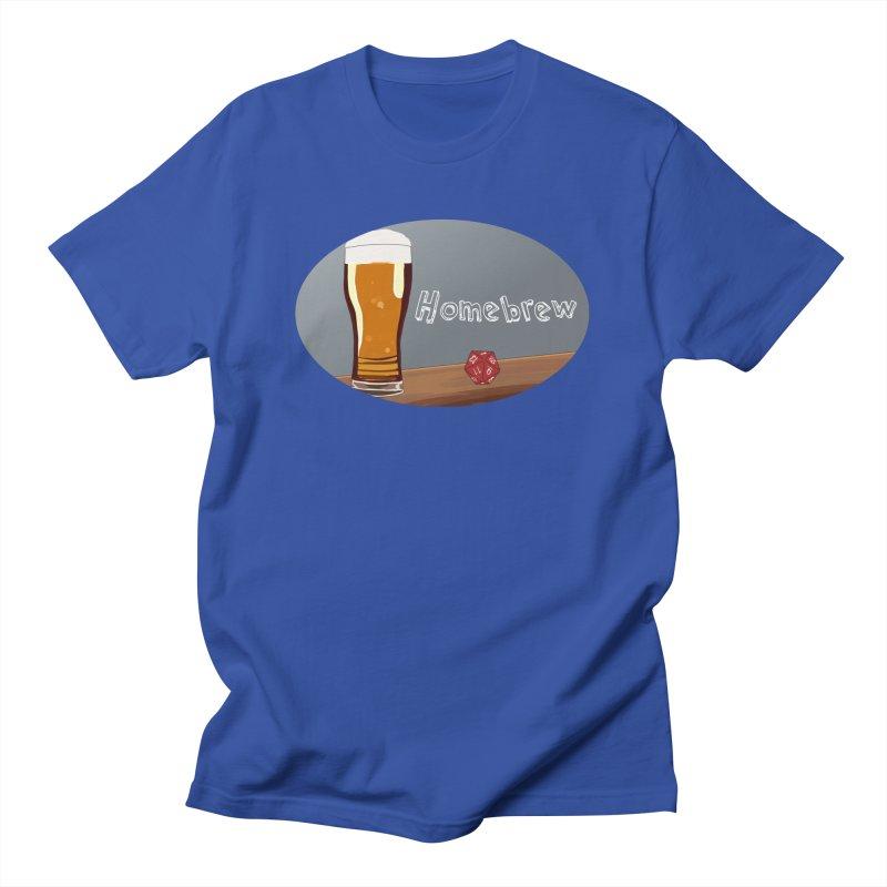 Homebrew Logo Men's T-Shirt by Slightly Animated Merch