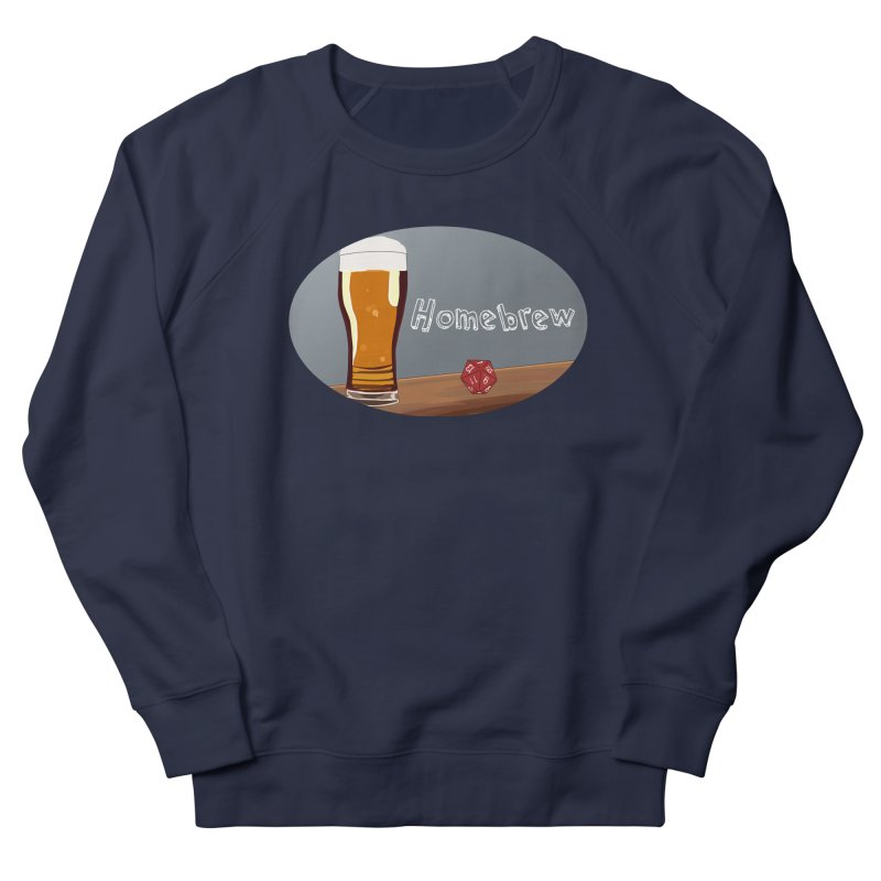 Homebrew Logo Women's French Terry Sweatshirt by Slightly Animated Merch