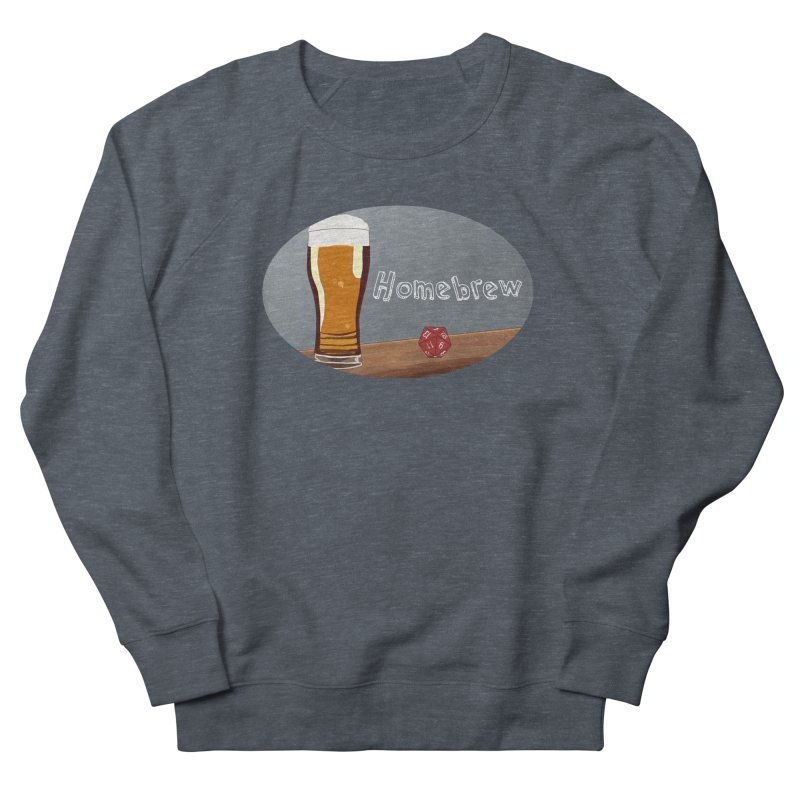 Homebrew Logo Men's French Terry Sweatshirt by Slightly Animated Merch
