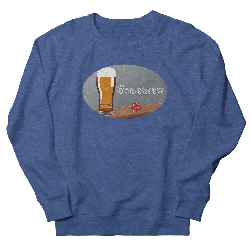 Homebrew Logo Men's Sweatshirt by Slightly Animated Merch