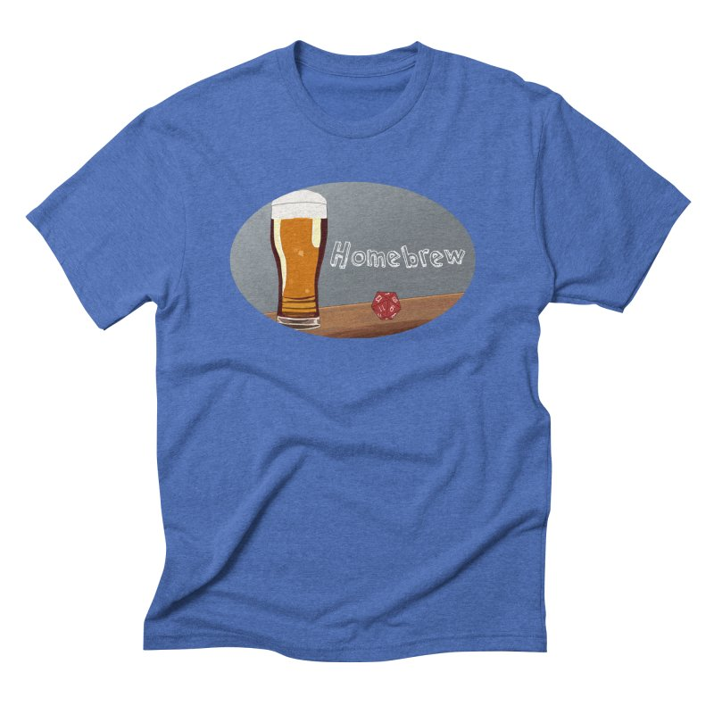 Homebrew Logo Men's T-Shirt by Slightly Animated Merch