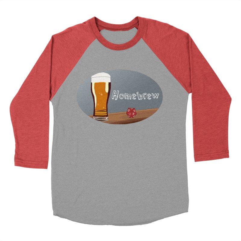 Homebrew Logo Men's Baseball Triblend Longsleeve T-Shirt by Slightly Animated Merch